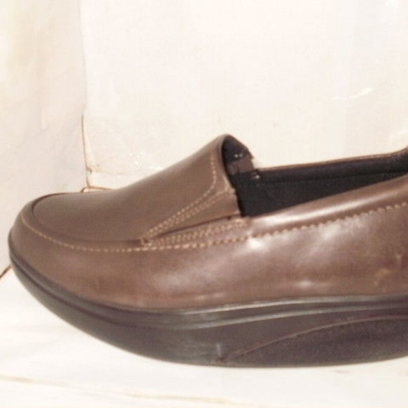 96ca6391b6b2 MBT WOMEN S BROWN LEATHER TONE-UPS SHOES SIZE 6.5